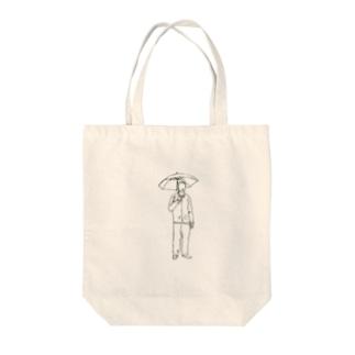 雨の日MAN Tote bags