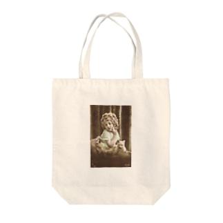 マドモワゼルと猫 Tote bags