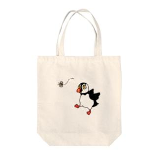 パフィンちゃん Tote bags