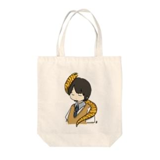 うつぼ Tote bags