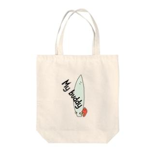 BUDDY Tote bags