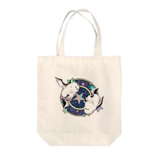 エナガグリフォン Niwatui Tote bags