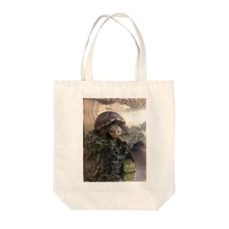 エビが欲しいお顔(コロン) Tote bags