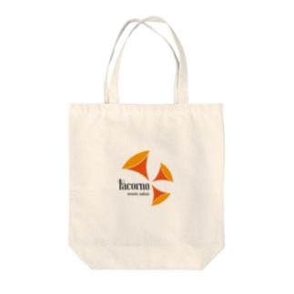 ラコルノミュージックサロン Tote bags