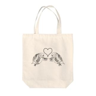 恋するミジンコ Tote bags
