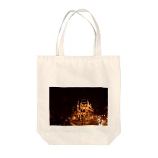 夜中 Tote bags