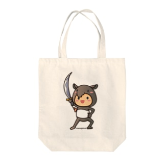 ばくばく団 Tote bags