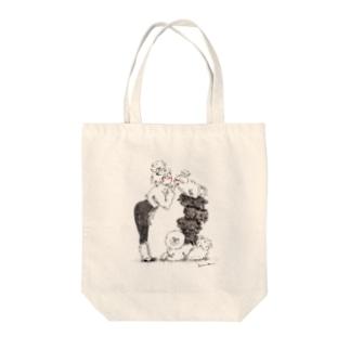 もふもふ Tote bags