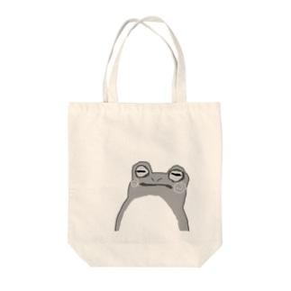 持ってカエル Tote bags