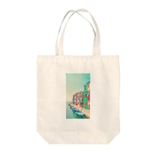 オシャレな風景 Tote bags