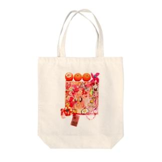 KUDO Moeko ACCEPT MYSELF Tote bags