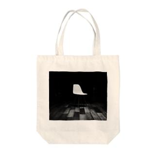 チェア Tote bags