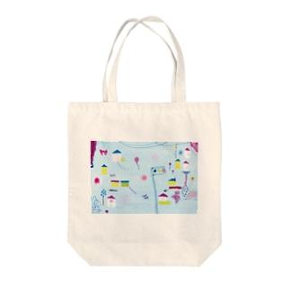 にちようび Tote bags