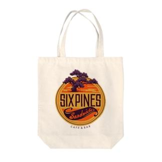 six pines   Tote bags