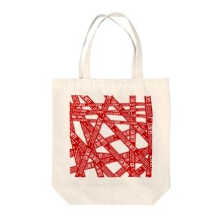 GK NITE Tote bags