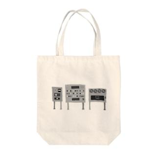 あやしげな白黒の機械 Tote bags