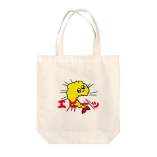 えび反りえびふりゃい Tote bags