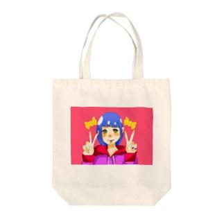サブカル少女 Tote bags