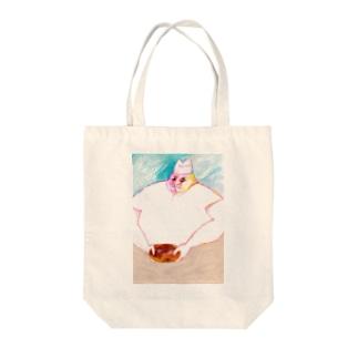 パン屋のおじさん Tote bags