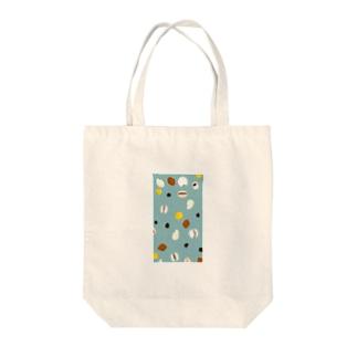 穀物[ブルー] Tote bags