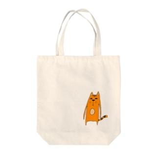 ムーにゃん Tote bags