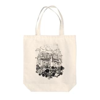すずの工場都市 Tote bags