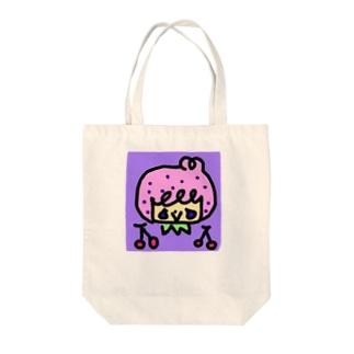 プリティボーイとさくらんぼ Tote bags
