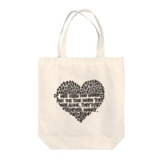「愛」 Tote bags