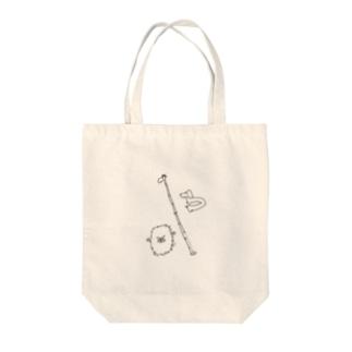 誇張した動物 Tote bags