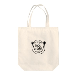 egg cafe Tote bags