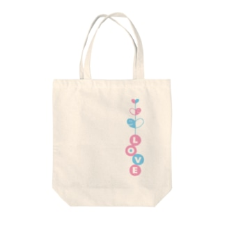 LOVEの芽生え♡ Tote bags