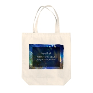 shootingstar Tote bags