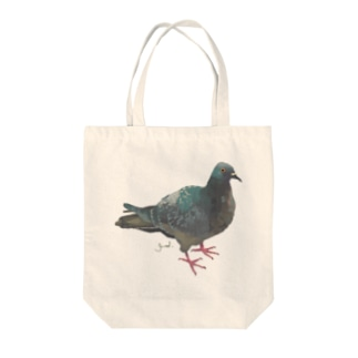 Pigeon(popokichi) Tote bags