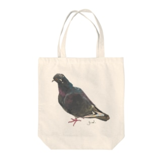 Pigeon(popoyo) Tote bags