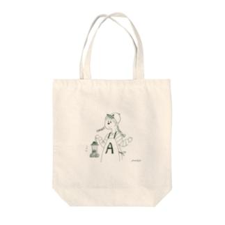 A子 Tote bags