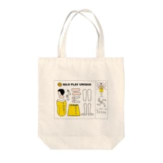 みよちゃん(NiloPlayUnique) Tote bags