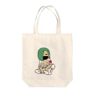 族の偉い人 Tote bags