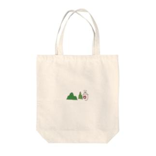 山﨑 Tote bags