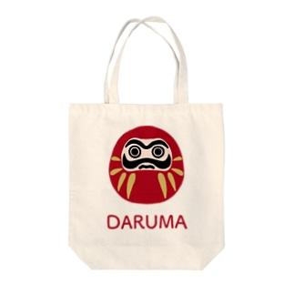 DARUMA Tote bags
