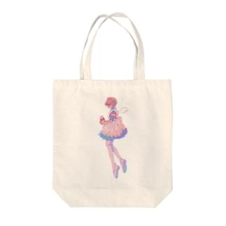 ナースエンジェル Tote bags