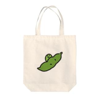 えだまめ坊や Tote bags