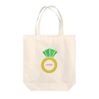 誕生石シリーズ(8月・ペリドット) Tote bags