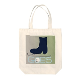 黒フィギュアスケート靴GOE+5 Tote bags