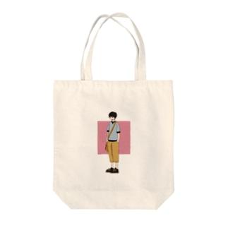新しい服 Tote bags