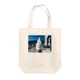 無文字 Tote bags