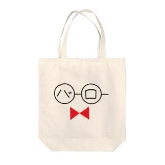 バーロー眼鏡 Tote bags