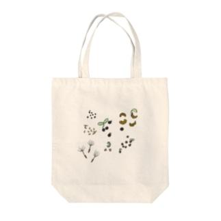 植物の発芽 Tote bags