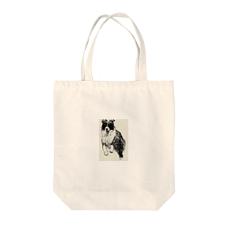 ボーダーコリー Tote bags