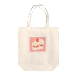 ビッグショートケーキ Tote bags