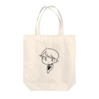 男の子 Tote bags